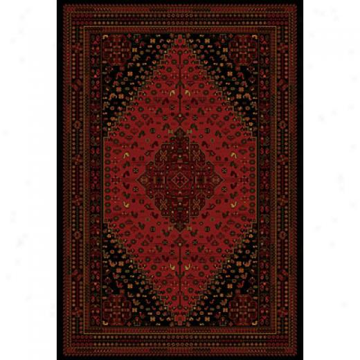 Central Oriental Kazak 2 X 8 Kazak Crimson Area Rugs