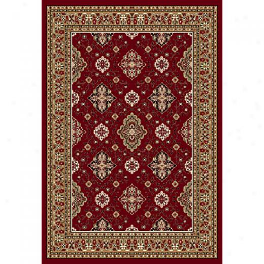 Central Oriental Rosemont 8 X 11 Rosemont Red Area Rugs