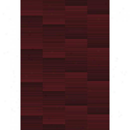 Central Otiental Sunset 2 X 3 Sunset Red Area Rugs