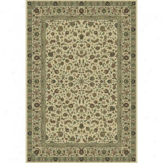 eCntral Oriental Tabriz 5 Round Tabriz Classic Ivory Superficial contents Rugs