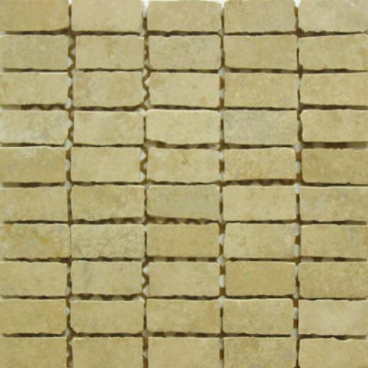 Ceramiche Faro Rigoletto Mosaic 1 X 2 Contralto Taupe Tile & Stone