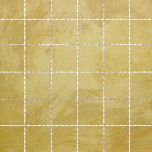 Cerdomus Opus Slate 2 X 2 Mosaic Beige Tile & Gem