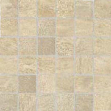 Cerim Ceramiche Srone Age Mosaic Quarzite Beige Tile & Stone