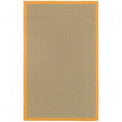 Chandra Bay 8 X 10 Orange Area Rugs