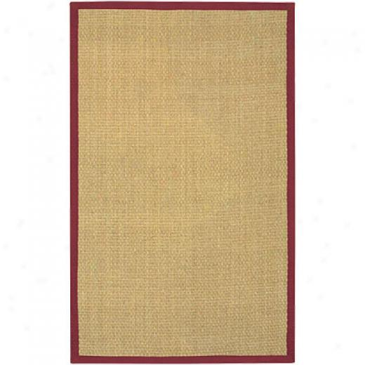 Chandra Coastal 8 X 10 Red Superficial contents Rugs