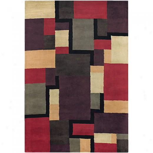 Chandra Mary Agan 8 X 11 aMr-2406 Area Rugs