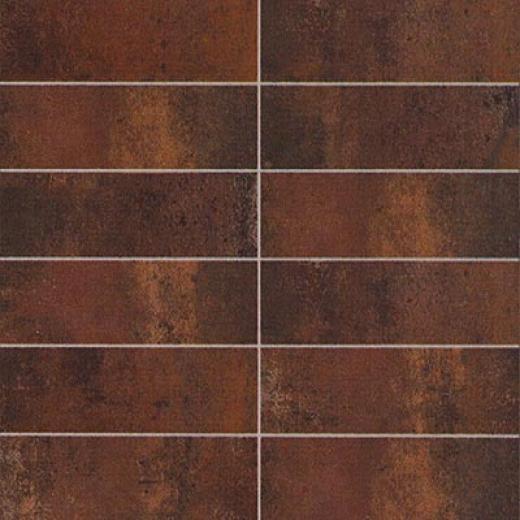 Cifre_ceramica Oxido Brick Mosaic Nero Tile & Stone