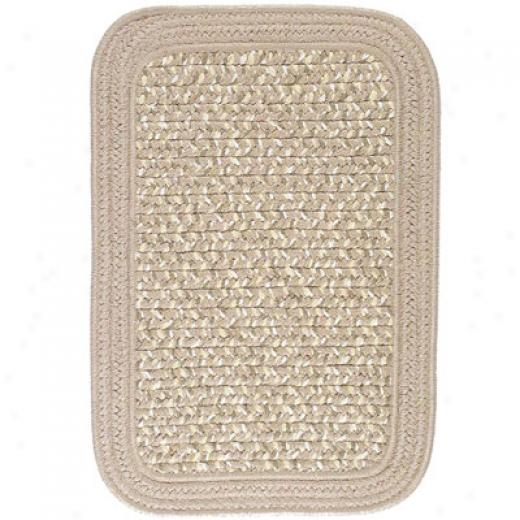 Colonial Mills, Inc. Bamboozle 6 X 9 Rectangle Sesame Area Rugs