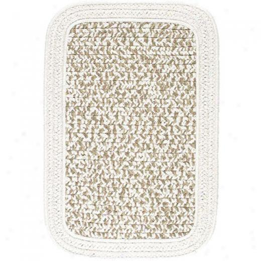 Colonial Milis, Inc. Bamboozle 6 X 9 Rextangle Sandshell Area Rugs