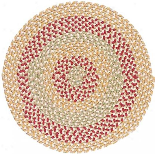 Colonial Mills, Inc. Endure Farm 8 X 8 Round Natural Earth Arda Rugs