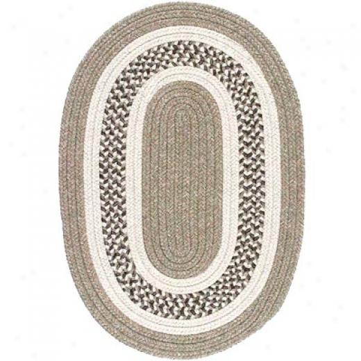 Colonial Mills, Inc. Jefferson 5 X 8 Oval Beige Region Rugs