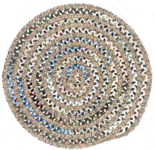 Colonial Mills, Inc. Montage 4 X 4 Round Sangria Area Rugs