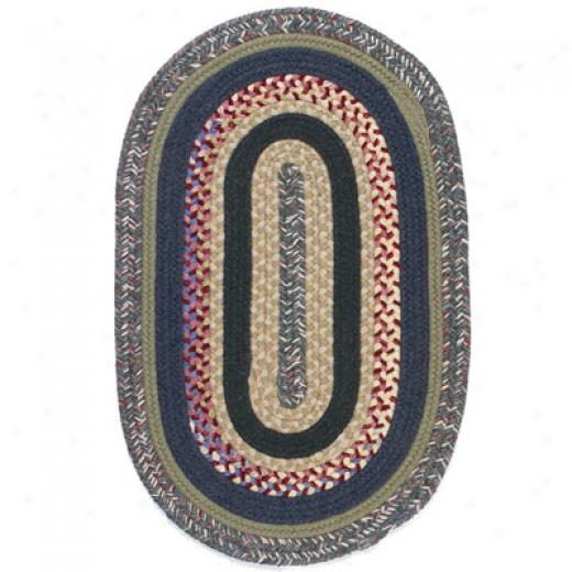 Colonial Mills, Inc. Pawtucket Oval 6 X 9 Multi Area Rugs