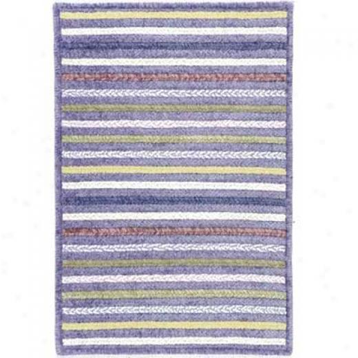 Colonial Mills, Inc. Seascape 10 X 13 Ametbyst Area Rugs