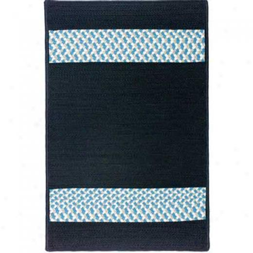 Colonial Mills, Inc. Sunbraid 6 X 6 Square Black Area Rugs
