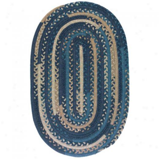 Colonial Mills, Inc. Timeless Retreat Oval 9 X 9 Loden Area Rugs