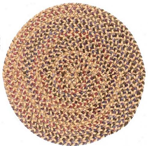 Colonial Mills, Inc. Twilight 6 X 6 Circle Evergold Area Rugs