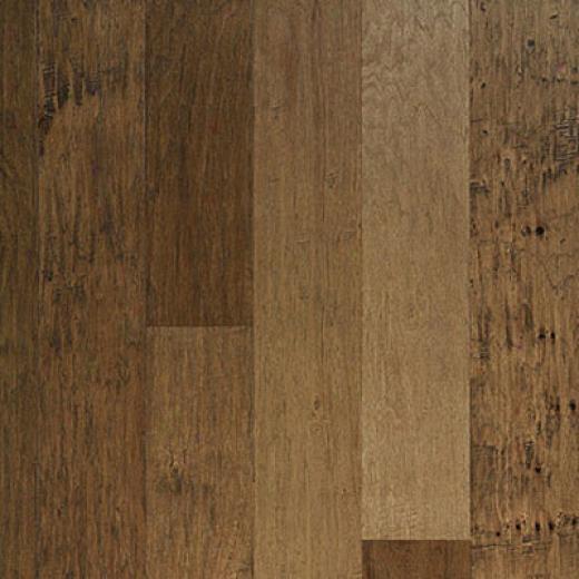 Columbia Amekia 5 Solid Log Cabin Hickory Hardwood Flooring