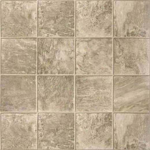 Congoleum Concept - Aztec Slate 6 Multi Greige Slate Vinyl Flooring