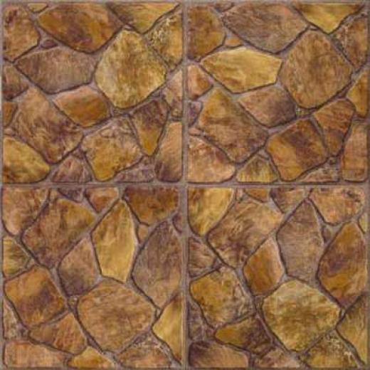 Congoleum Durastone - Rock Garden Painted Desert Vinyl Flooring