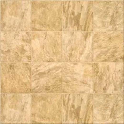 Congoleum Pacesetter - Bombay Slate 6 Multi Beige Slate Vinyl Flooring