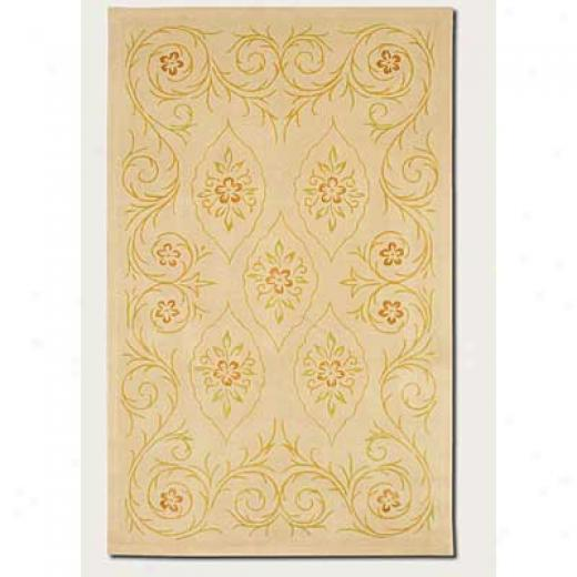 Couristan Botanics 9 X 13 Marguerite Antique Linen Area Rugs