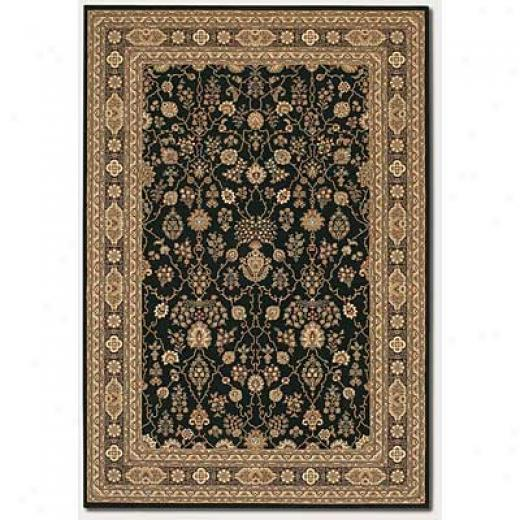 Couristan Chanterelle 2 X 3 Sarouk Black Area Rugs