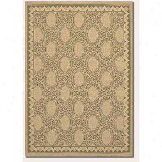 Couristan Five Seasons 1 X 2 Amargosa Cream Red Area Rugs