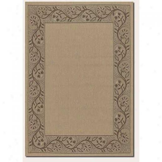 Couristan Five Seasons 1 X 2 Tuscana Cream Brown Area Rugs