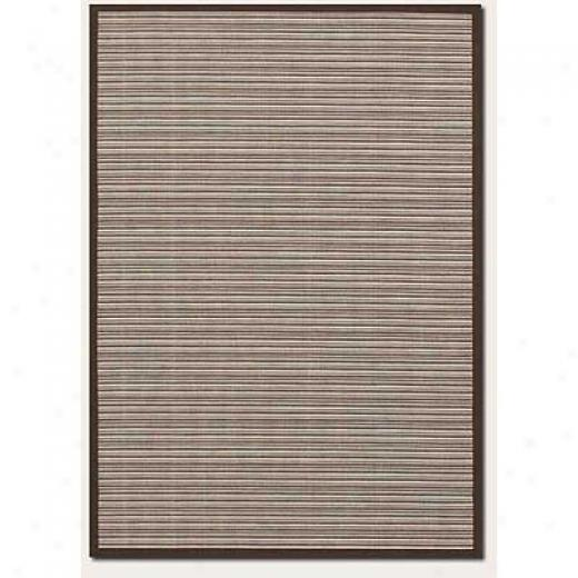 Couristan Five Seasons 1 X 2 Muskego Cream Chocolate Brown Area Rugs