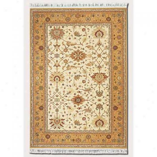 Couristan Gem 8 X 10 Khorasan Antique Gold Area Rugs