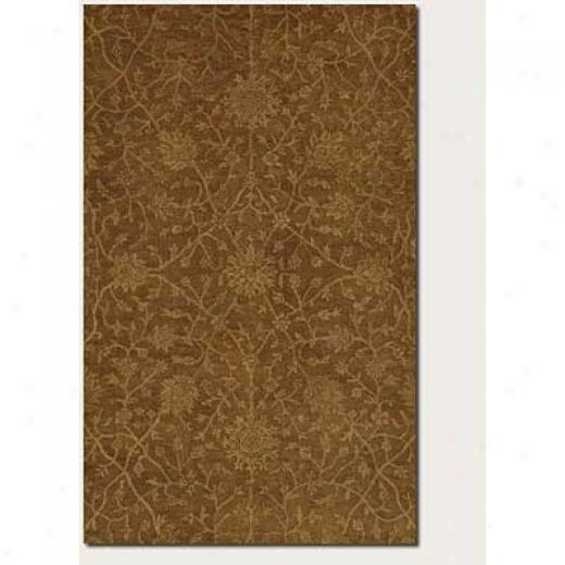 Couristan Jalore 5 X 8 Antique Sarouk Brown Sienna Camel Area Rugs