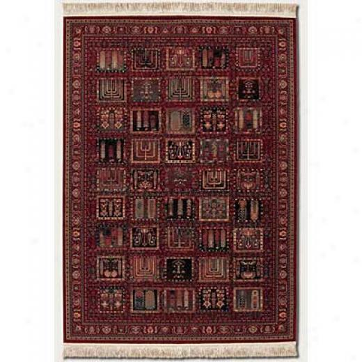 Couristan Kashimar 10 X 16 Shalanzer Antique Red Area Rugs