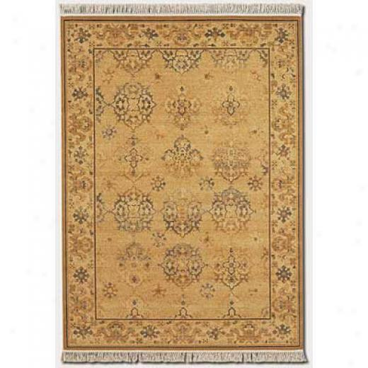 Couristan Kashimar 2 X 4 Imperial Yazd Golden Moss Area Rugs