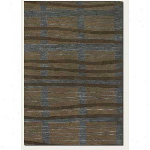 Couristan Kenya 9 X 13 Harmattan Blu Brown Area Rugs