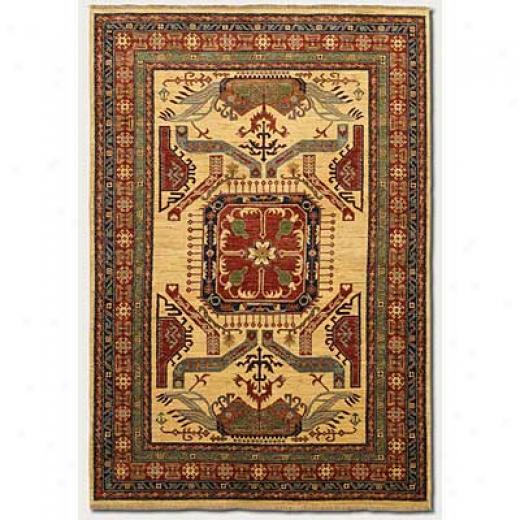 Couristan Lahore 10 X 14 All Over Vase Camel Area Rugs