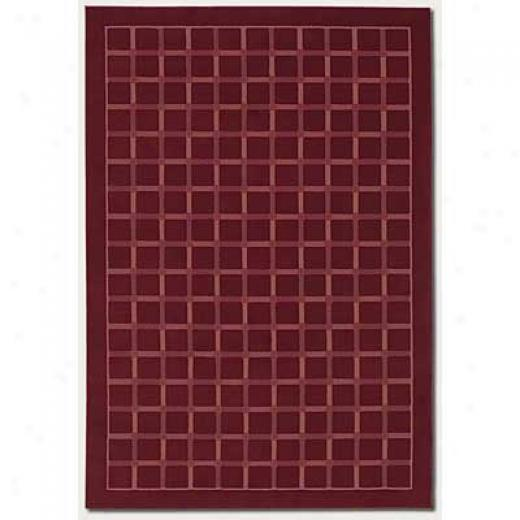 Couristan Marco Island 2 X 4 Deep Ruby Area Rugs