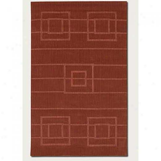 Couristan Nouveau 2 X 8 Rhnner Thztched Rust Area Rugs