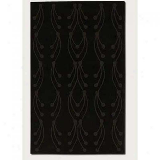 Couristan Nouveau 3 X 4 Willow Midnight Area Rugs