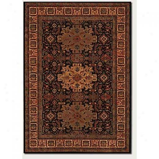 Couristan Old World Classics 2 X 9 Runner Kerman Medallion Burgundy Area Rugs