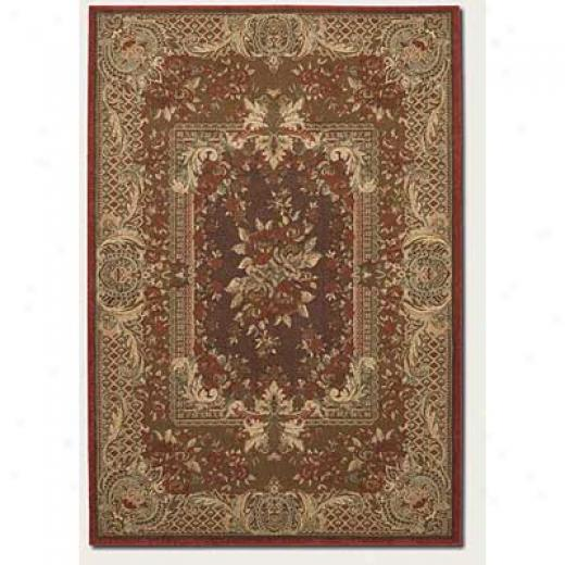 Couristan Pera 3 X 8 Runner Birjand Chocolate Latte Area Rugs