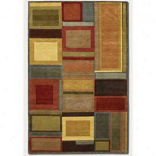 Couristan Pokhara 6 X 8 Iridescent Blocks Arda Rugs