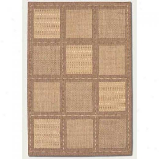 Couristan Recife 8 X 11 Summit Natural Cocoa Area Rugs