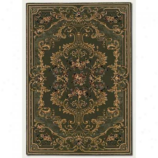 Couristan Rococo 9 X 13 Antiquit yDeep Sage Area Rugs