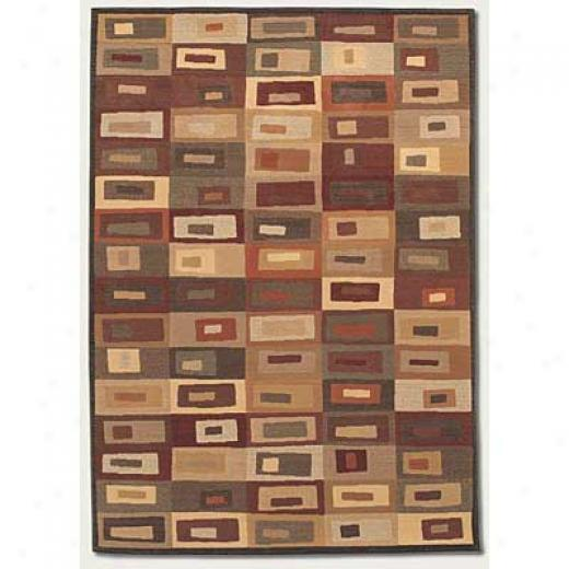 Couristan Scala 8 X 11 Meridian Beige Brown Sienna Area Rugs