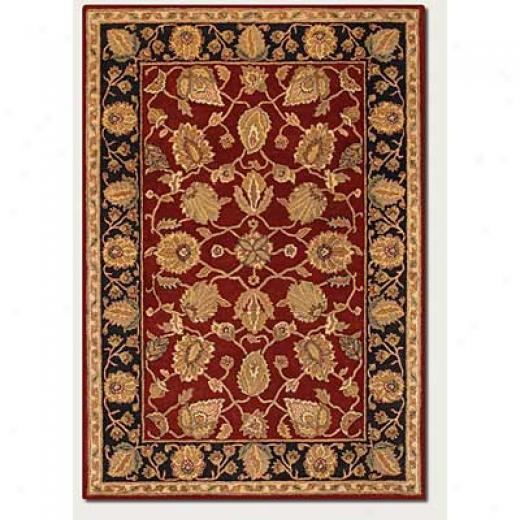 Couristan Souri 10 X 13 Mahi Red Area Rugs