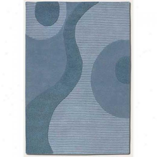 Couristan Spuer Indo-colors 10 X 13 Brielle Dusk Blue Area Rugs