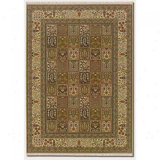 Couristan Taj Mahal 8 X 12 Baktiari Autumn Wheat Area Rugs