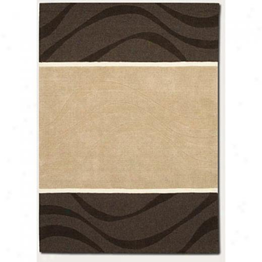 Couristan Zen Garden 6 X 8 Whim Natural Grey Area Rugs
