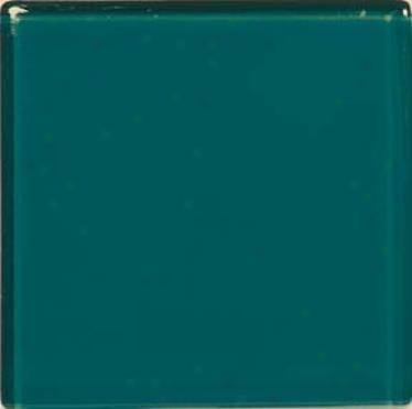 Crossville Brilliante Glass 3 X 3 Turquoise Tile & Stone